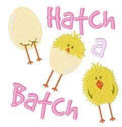 Hatch A  Batch embroidery design
