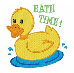 Bath Time Duck Embroidery Designs Machine Embroidery