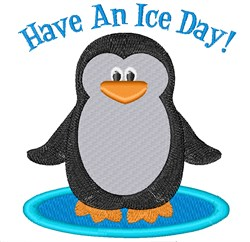 Have An Ice Day embroidery design