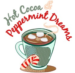 Peppermint Dreams embroidery design