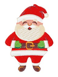 Santa Claus embroidery design