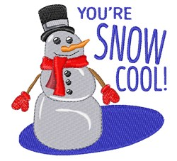 Youre Snow Cool embroidery design