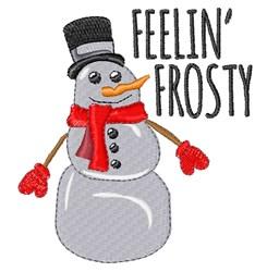 Feelin Frosty embroidery design