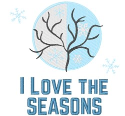 Love The Seasons embroidery design