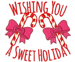 Sweet Holiday embroidery design