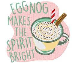 Makes Spirit Bright embroidery design