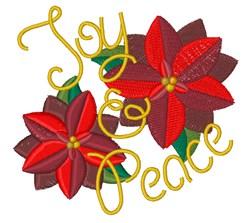 Joy & Peace embroidery design