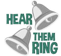 Hear Them Ring embroidery design