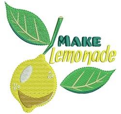 Make Lemonade embroidery design