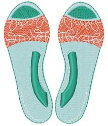 Summer Sandals embroidery design