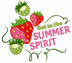 Summer Spirit embroidery design