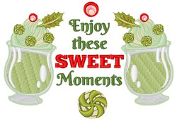 Enjoy These Sweet Moments embroidery design