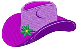 Cowgirl Hat embroidery design