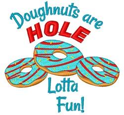 Doughnut Holes embroidery design