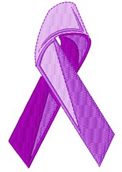 Awareness Ribbon embroidery design