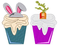Easter Cupcake embroidery design