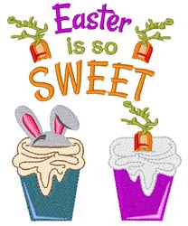 Easter Is So Sweet embroidery design