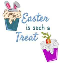 Easter Is A Treat embroidery design