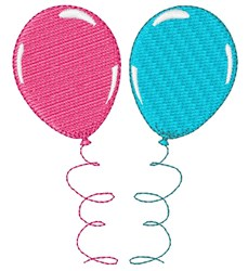 Baby Shower Balloons embroidery design