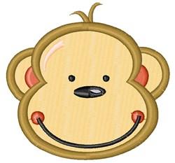 Happy Monkey embroidery design