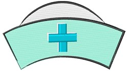 Nurses Hat embroidery design