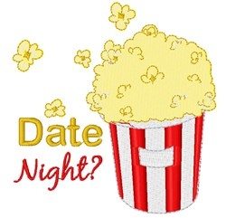 Date Night? embroidery design