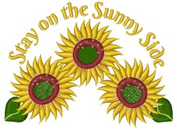 On The Sunny Side embroidery design