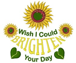 Brighten Your Day embroidery design