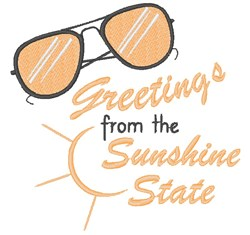Sunshine State Greetings embroidery design