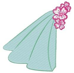 Wedding Veil embroidery design