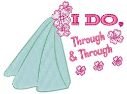 I Do embroidery design