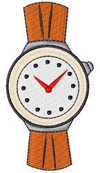 Wrist Watch embroidery design
