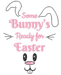 Ready For Easter embroidery design