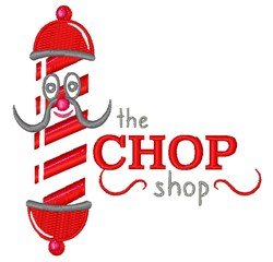 Chop Shop embroidery design