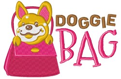 Doggie Bag embroidery design
