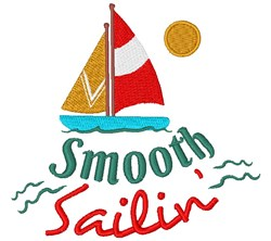 Smooth Sailin embroidery design