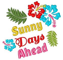 Sunny Days Ahead embroidery design