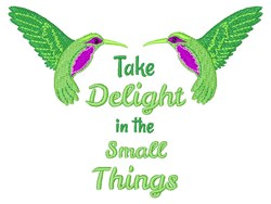 Small Things embroidery design