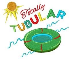 Totally Tubular embroidery design
