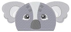 Koala Pocket Topper embroidery design