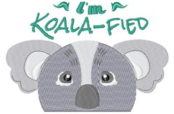 Im Koala-fied embroidery design