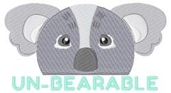 Un-bearable embroidery design