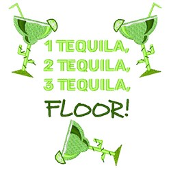 1 Tequila embroidery design
