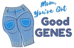 Good Genes embroidery design