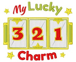 My Lucky Charm embroidery design