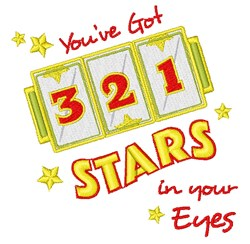 Stars In Your Eyes embroidery design