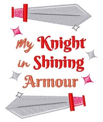 My Knight embroidery design