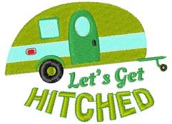 Camper Let s Get Hitched embroidery design