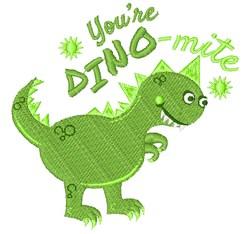 You re Dino Mite embroidery design