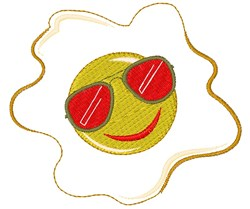 Egg embroidery design